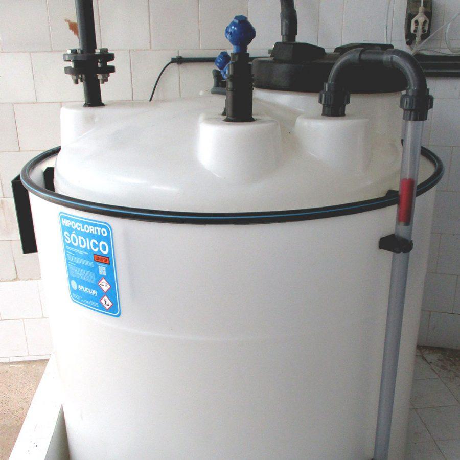 Dipòsit tractametn d'aigües