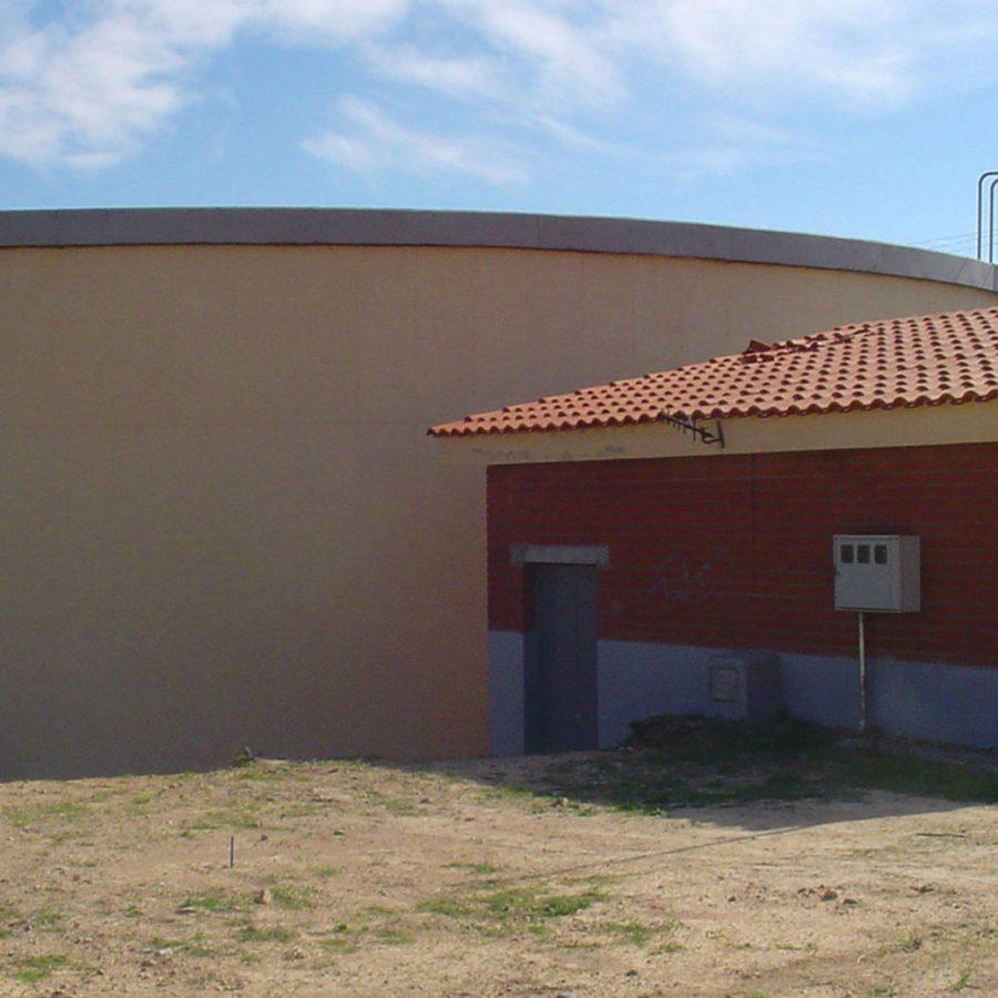 Dipòsit de subministrament d'aigua